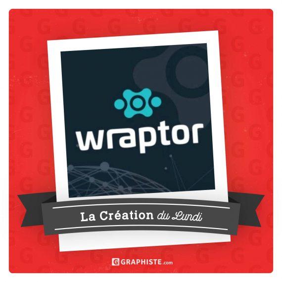 L'identité Visuelle WRAPTOR élue «création de la semaine»