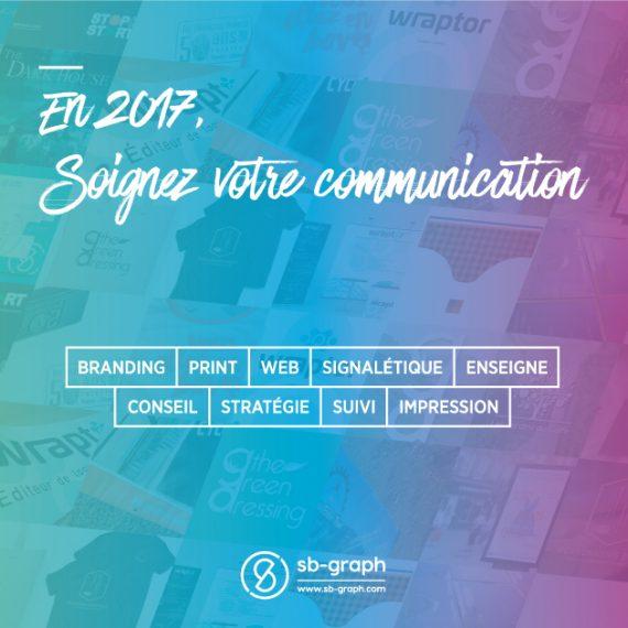 En 2017, soignez votre communication avec SB-GRAPH