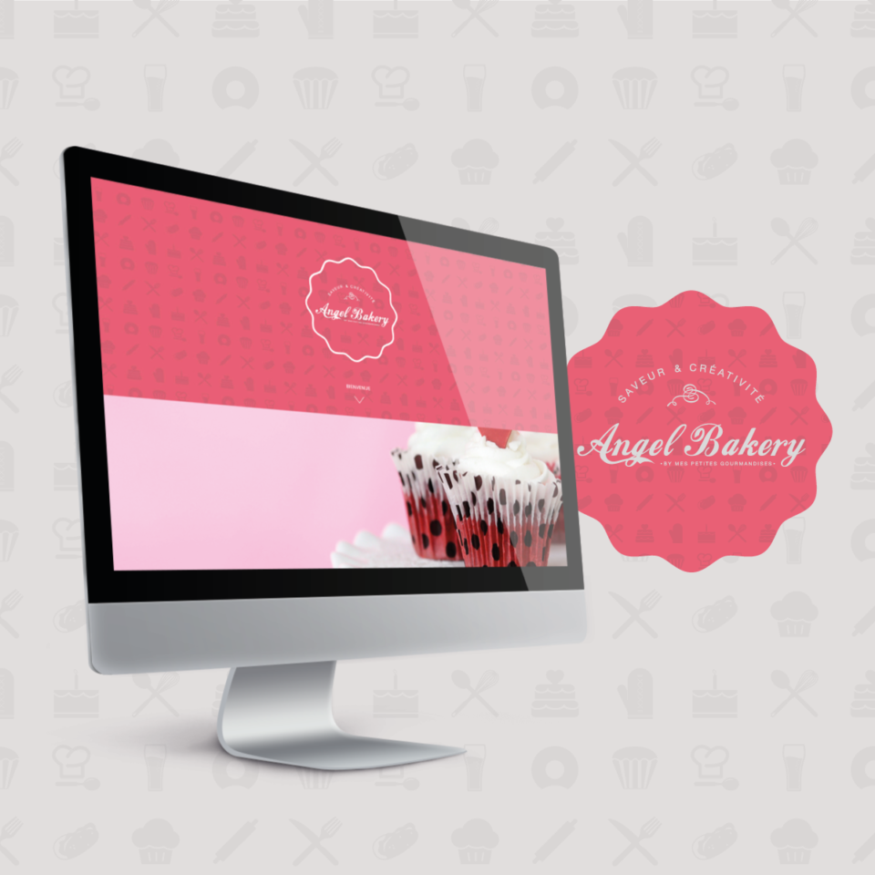 création site vitrine cake design auriol