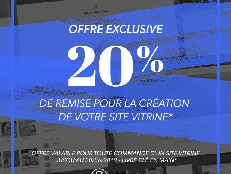 offre promo réalisation site vitrine wordpress graphiste freelance marseille