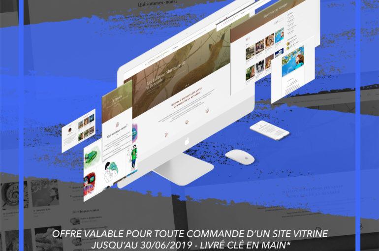 offre promo création site vitrine graphiste freelance marseille