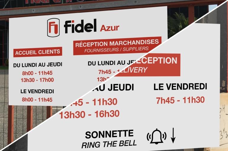 Conception signalétique à Marseille, Aubagne