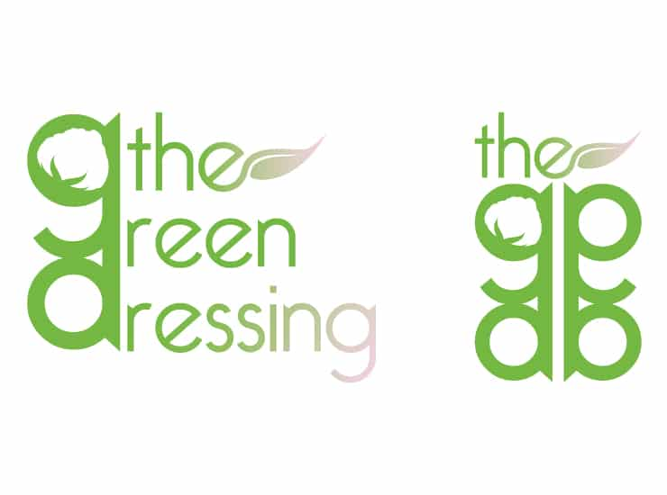 logo the green dressing graphiste marseille