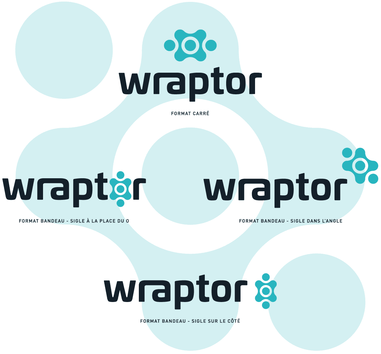 création logo wraptor sb-graph graphiste freelance aubagne