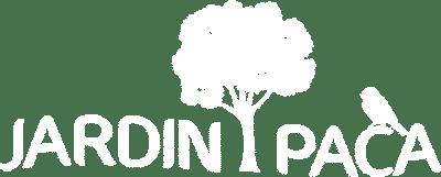 jardin paca logo white